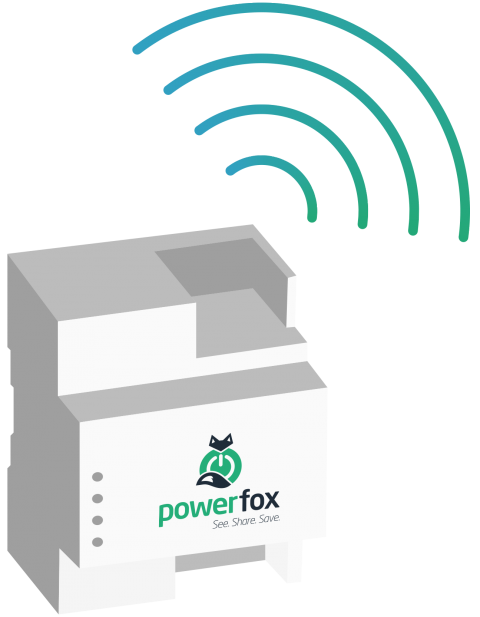 powerfox powerbox sending